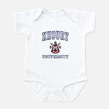 KHOURY University Infant Bodysuit