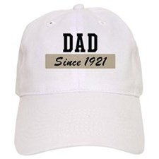 Dad since 1921 (brown) Baseball Cap