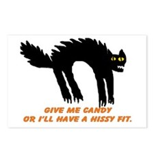 Halloween Hissy Postcards (Package of 8)