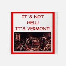 vermont Throw Blanket