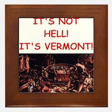 vermont Framed Tile