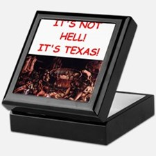 texas Keepsake Box