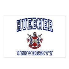 HUEBNER University Postcards (Package of 8)