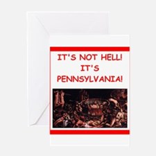 pennsylvania Greeting Cards