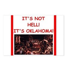 oklahoma Postcards (Package of 8)