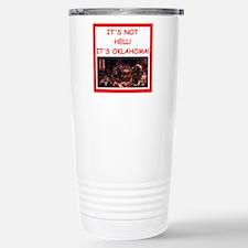 oklahoma Travel Mug