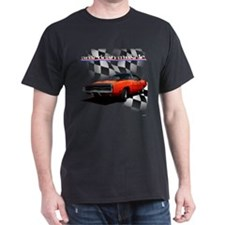 1970 Dodge Charger Red T-Shirt