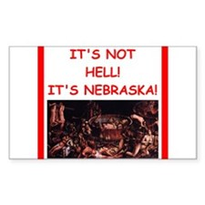 nebraska Decal