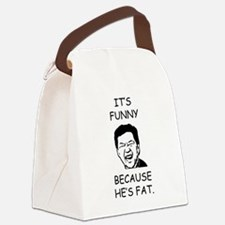 Cute Alan the hangover Canvas Lunch Bag