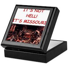 missouri Keepsake Box
