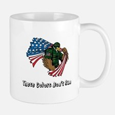 Custom Flag and Eagle Mugs