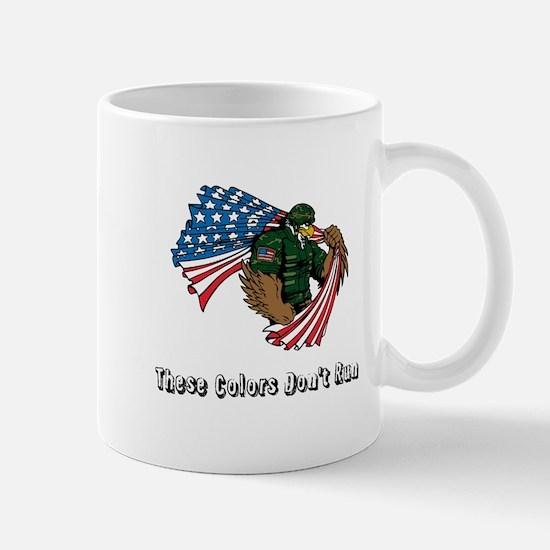 Custom Flag and Eagle Mugs