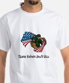 Custom Flag and Eagle T-Shirt