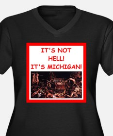 michigan Plus Size T-Shirt