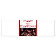 michigan Bumper Bumper Sticker