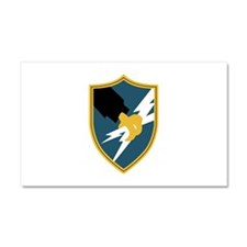 Army Security Agency Insignia.p Car Magnet 20 x 12