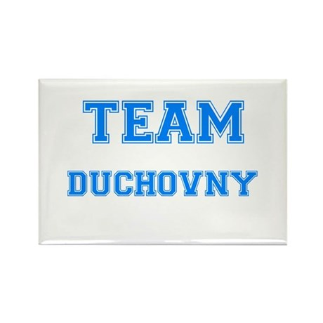TEAM DUCHOVNY Rectangle Magnet