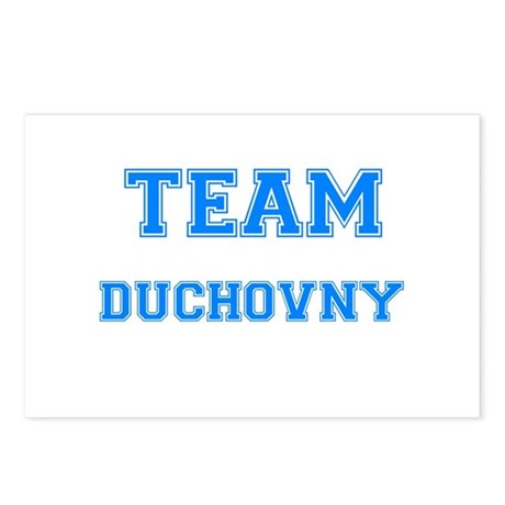TEAM DUCHOVNY Postcards (Package of 8)