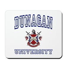 DUNAGAN University Mousepad