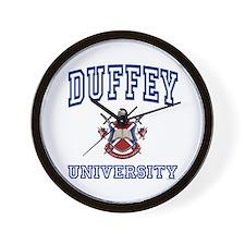 DUFFEY University Wall Clock