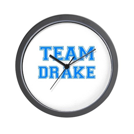TEAM DRAKE Wall Clock
