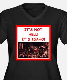 idaho Plus Size T-Shirt