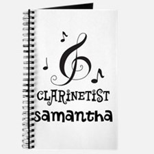 Clarinet Personalized Journal