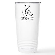 Clarinet Personalized Travel Mug