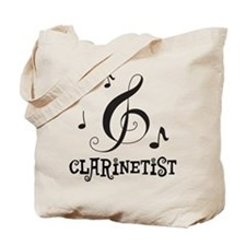 Clarinet Personalized Tote Bag
