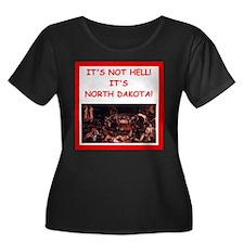 north dakota Plus Size T-Shirt