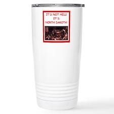 north dakota Travel Mug