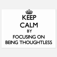 Keep Calm by focusing on Being Thought Invitations