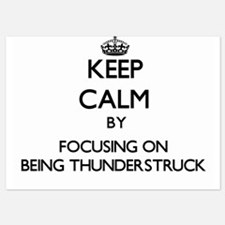 Keep Calm by focusing on Being Thunder Invitations
