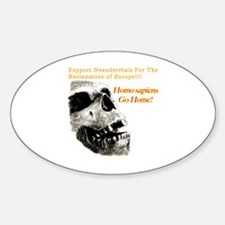 Neanderthals For The Reclamation Of Europe Decal