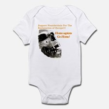 Neanderthals For The Reclamation Of Europe Onesie