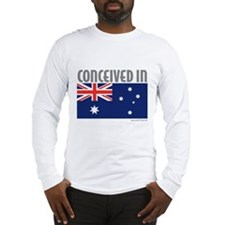 Conceived in Australia - Long Sleeve T-Shirt