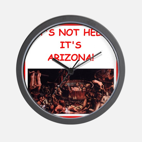 arizona Wall Clock