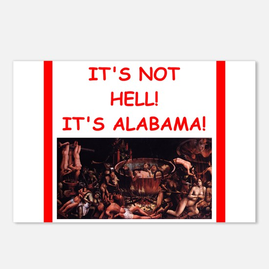 alabama Postcards (Package of 8)