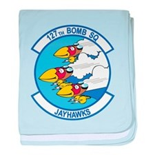 127th_bomb_sq.png baby blanket