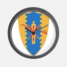 4th Cavalry Regiment.png Wall Clock