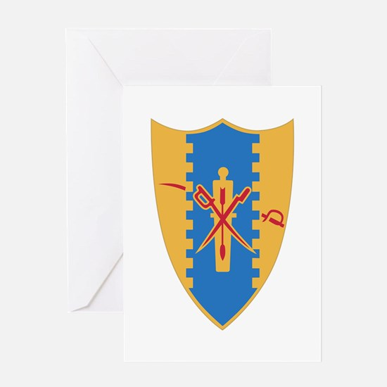 4th Cavalry Regiment Greeting Cards