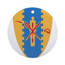 4th Cavalry Regiment.png Ornament (Round)