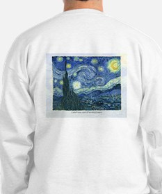 I paint my dream Van Gogh Sweatshirt