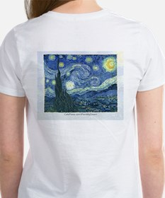 I paint my dream Van Gogh Tee