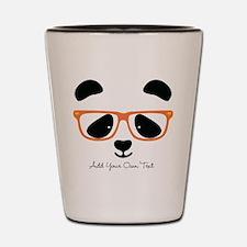 Cute Panda Orange Shot Glass