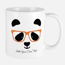 Cute Panda Orange Mugs