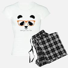 Cute Panda Orange Pajamas
