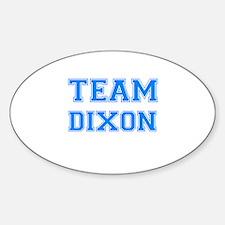 TEAM DIXON Oval Decal