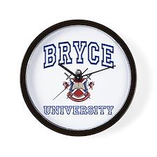 BRYCE University Wall Clock