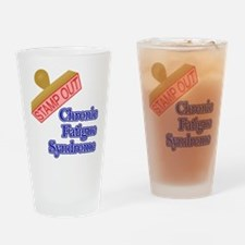 Chronic Fatigue Syndrome Drinking Glass